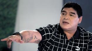 """""""El técnico para la selección argentina es Gareca"""", afirmó Maradona"""