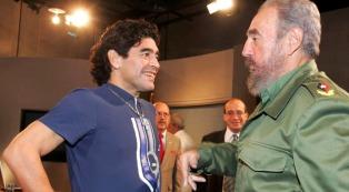 Maradona, García Márquez y Chávez, entre los grandes amigos de Fidel