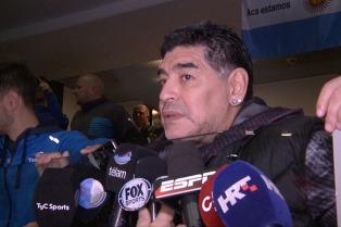 """Maradona: """"Se a seleção jogar na Bombonera eu quero estar"""""""