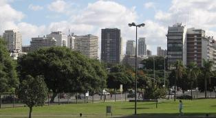 Cielo algo nublado con una máxima de 31 grados en Buenos Aires