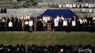 """Raúl Castro: """"Fidel consagró toda su vida a la solidaridad"""""""