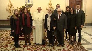 """Francisco tuvo un encuentro """"muy cordial"""" con Scorsese"""