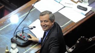 Monzó fue reelegido como presidente de la Cámara de Diputados por amplia mayoría