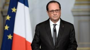 """Hollande: """"Dejo el país en mejor estado que el que lo encontré"""""""