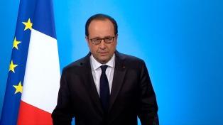 """Hollande afirmó que el detenido de Amberes pretendía """"matar"""""""