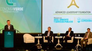 Macri, Schiaretti y Axel en la primera jornada del Congreso Latinoamericano de Economía Verde