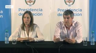 """Peña y Vidal coincidieron en que en 2017 """"la Argentina va a crecer"""""""