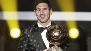 """Messi, nuevamente ternado para el """"Balón de Oro"""""""