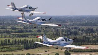 Un avión ensamblado en Mendoza mejorará el entrenamiento de los pilotos argentinos