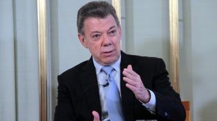 """Santos dijo que """"no puede perpetuarse una dictadura en Venezuela"""""""