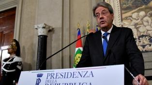 Gentiloni presentó su gabinete y juró como primer ministro