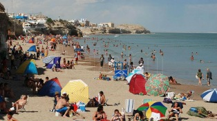 La playa, la estepa y la cordillera son la postal del verano