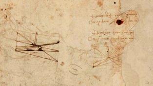 Descubren un dibujo de Leonardo Da Vinci
