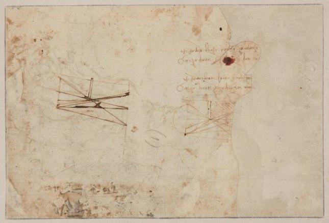 Resultado de imagen de Un jubilado guardaba entre sus papeles un dibujo de Leonardo Da Vinci