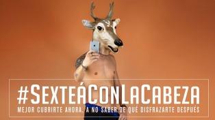 #SexteaConLaCabeza, una campaña para concientizar sobre el ciudado de la identidad en las redes