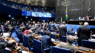 El Senado aprobó una enmienda de la Constitución para congelar por veinte años el gasto público