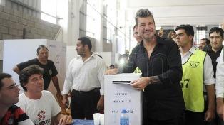 Lammens y Tinelli fueron reelegidos en San Lorenzo con el 88,15 por ciento de los votos