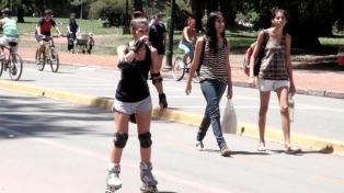 Ola de calor en Argentina-Télam