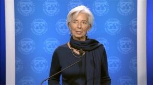 Para Lagarde, el programa a negociar será el que proponga el gobierno argentino