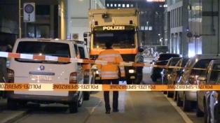 El autor del ataque en el centro islámico de Zurich se suicidó