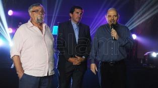 Rottemberg, Patalano y Faroni inauguraron la temporada teatral de Mar del Plata