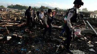 Peña Nieto prometió apoyo para reconstruir el mercado pirotécnico tras la explosión