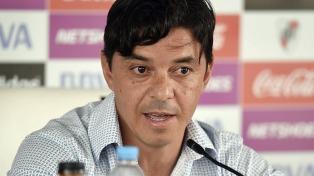 Lollo quedó a disposición de Gallardo para jugar contra Melgar por la Libertadores