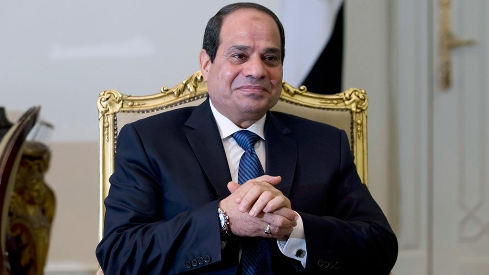 Abdel Fatah al-Sisi, presidente egipcio