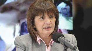 Bullrich defendió los cambios en la política de migraciones