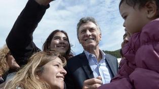 El presidente Macri descansa en Villa la Angostura junto a su familia