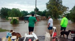 Un muerto y más de 400 evacuados a raíz del temporal en el norte bonaerense