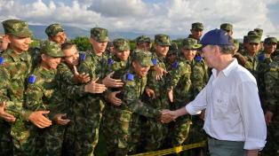Protesta venezolana frente a las conversaciones de cooperación militar entre Colombia y la OTAN