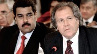 """Almagro afirmó que Maduro promueve un """"nuevo golpe de Estado"""""""