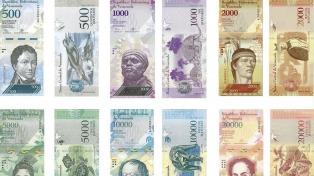 Entran en circulación los nuevos billetes luego de un mes de espera