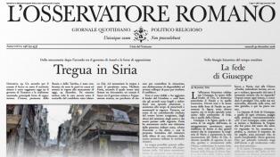 L'Osservatore Romano lanza en Argentina su versión local