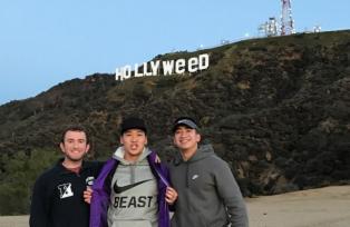 Hollywood comenzó el 2017 con una broma en su emblemático cartel