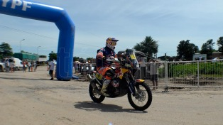 Ingresaron al país las primeras motos de la edición 2017 del Rally Dakar