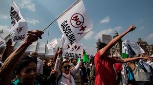 Al menos 40 mil personas protestaron contra el gasolinazo
