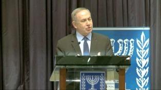Netanyahu agradeció a Macri la participación del Gobierno en el acto por los 25 años del atentado a la embajada de Israel