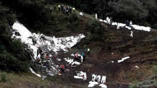 El club Chapecoense analiza demandar al Estado boliviano