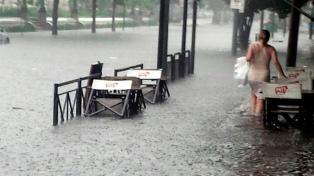"""Alerta por """"tormentas fuertes con ráfagas"""" para Buenos Aires y el centro del país"""