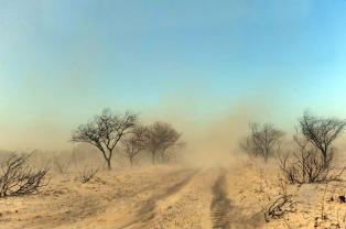 Siguen activos diez focos de incendio en La Pampa