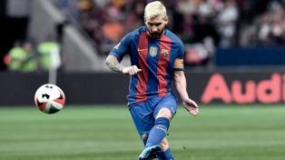 Barcelona venció al Atlético de Madrid con un gol de Messi