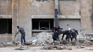 Islamistas y fuerzas sirias combaten en el sudoeste de Damasco