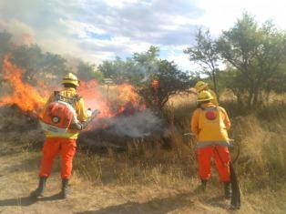Las altas temperaturas, la baja humedad y los pastizales secos dificultan controlar los incendios