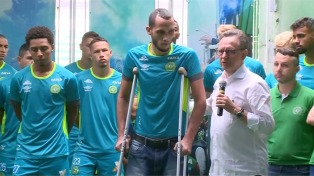 A 50 días de la tragedia, sólo Palmeiras, Cruzeiro y Flamengo ayudaron a Chapecoense