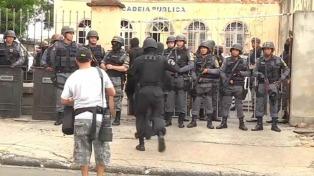 Tropas federales llegan a la región amazónica a contener la violencia en las cárceles