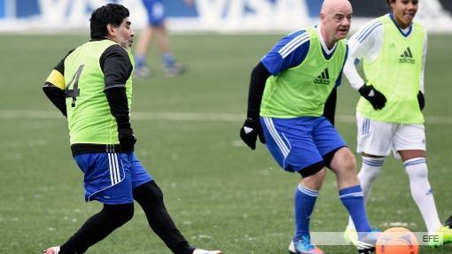 AFA, Marchi, Bilardo e Icardi — Maradona contra todos