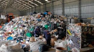 Inauguraron una planta de manipulación de residuos urbanos