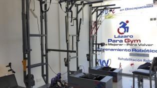 Crean un rehabilitador robótico para personas con problemas de movilidad